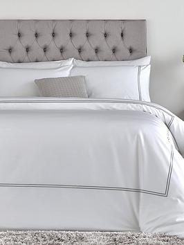 Hotel Collection Luxury 400 Thread Count Sch Border Soft Touch Sa Duvet Cover Set Littlewoodsireland Ie