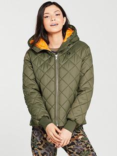 37717a8e719d Converse Quilted Poly Padded Jacket - Khaki