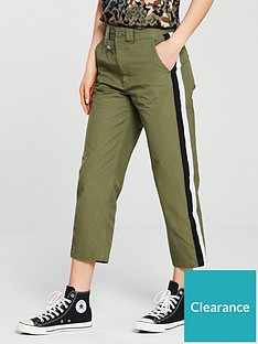 e2dbed1db8 Converse Woven Tapered Pant - Khaki