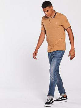 2018 New Clearance Find Great Shirt Contrast Perry Tipped Polo Fred High Quality Online BSsjZMn4