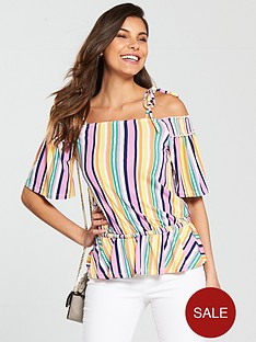 v-by-very-tie-shoulder-top-stripe