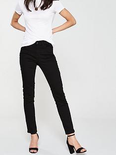v-by-very-short-ashton-mid-rise-slim-leg-black
