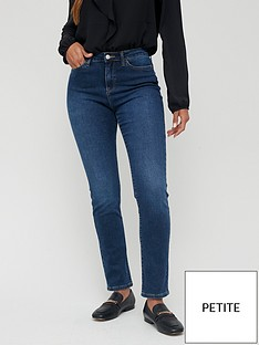 v-by-very-short-isabelle-high-rise-slim-leg-jeans-dark-wash