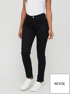 v-by-very-short-isabelle-high-rise-slim-leg-jean-black