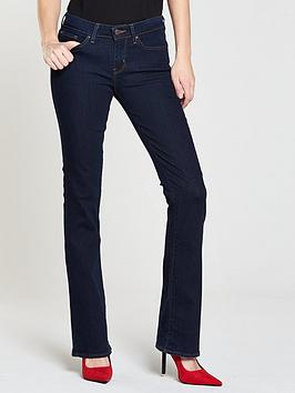 ba748c94ae1 Levi's 715 Mid Rise Bootcut Jean - Lone Wolf | littlewoodsireland.ie