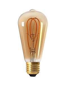 girard-sudron-5w-e27-teardrop-led-looped-filament-screw-cap-bulb