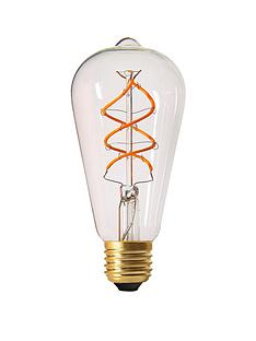 girard-sudron-5w-e27-teardrop-led-twisted-filament-screw-cap-bulb