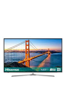 hisense-h55u7auknbsp55-inch-4k-ultra-hd-freeview-play-smart-tv