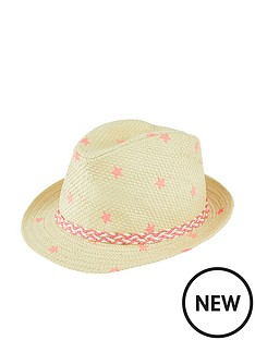 accessorize-star-print-trilby-hat