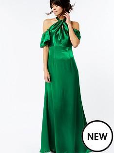 monsoon-bella-cold-shoulder-maxi-dress-green