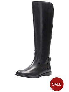 4c305a5b002 Clarks Edalena Wish Knee High Boot - Black