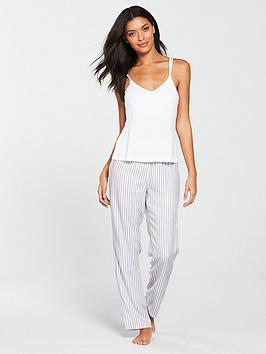 v-by-very-double-strap-vest-and-trouser-pyjama-set-stripe