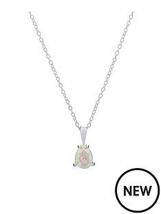 accessorize-sterling-silver-swarovski-teardrop-necklace