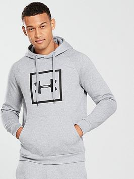 0c427529fd25 UNDER ARMOUR Rival Fleece Overhead Logo Hoodie