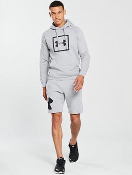 Rival UNDER Fleece Hoodie ARMOUR Logo Overhead Cheap Sale Fake Free Shipping 2018 New Footlocker Pictures Cheap Price Footlocker Cheap Online 066L9LFLlZ
