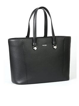hugo-mayfair-leather-shopper-tote-bag