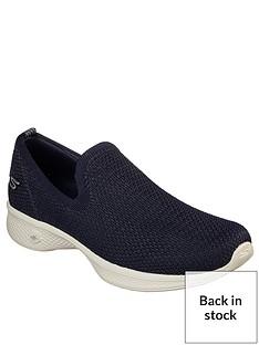 f411101eeae5df Skechers Skechers Go Walk 4 Seamless Flat Knit Slip On Shoe