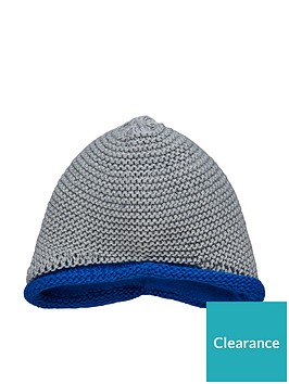 ad34716c7 adidas Baby Boys Knit Beanie Hat - Medium Grey Heather ...