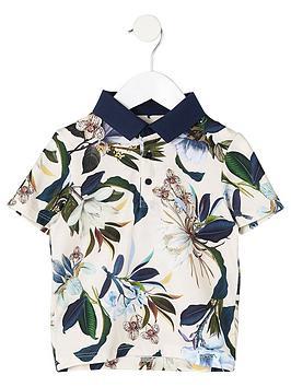 river-island-mini-boys-blue-floral-polo-shirt