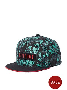 river-island-boys-green-039attitude039-tropical-leaf-cap