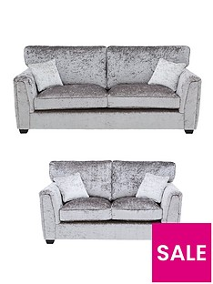 glitz-fabric-standard-back-3-seaternbsp-2-seater-sofa-set-buy-and-save