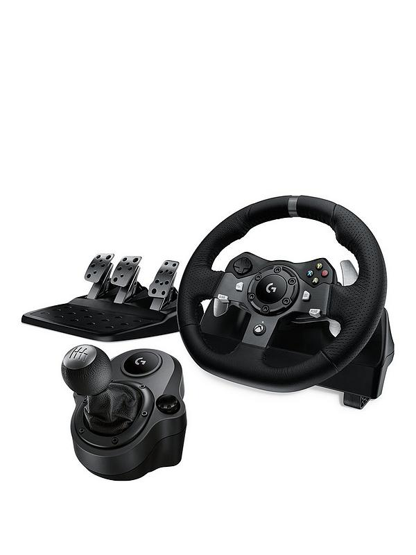 G920 Driving Force Racing Wheel with Pedals and Force Shifter for Xbox & PC