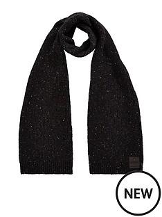 superdry-surplus-goods-tweed-scarf-black