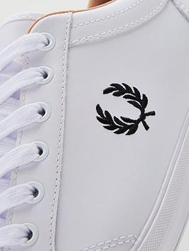 Trainer Fred Perry Leather Baseline Best Prices Online For Sale frora