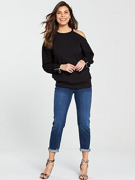 Purchase Cheap Price Cost Sale Online Black  V Shoulder by Cold Sweat Very YTOtMnoUg