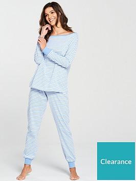 v-by-very-stripe-pyjama-set-blue
