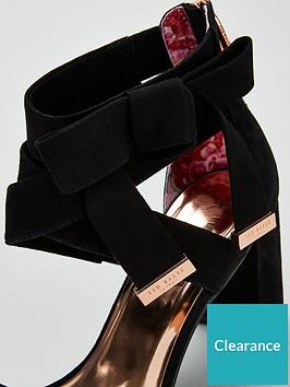 03881844f Ted Baker Noxen 2 Block Heel Sandal - Black
