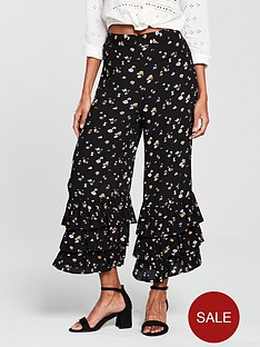 river-island-triple-frill-crop-wide-leg-trouser-black-print