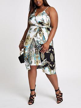 Cheap Largest Supplier RI Bright Print Dress Plus Yellow nbsp  Asymmetric Discount Authentic Online Discount The Cheapest Sale Very Cheap Footlocker Cheap Price ySR6AbstCX