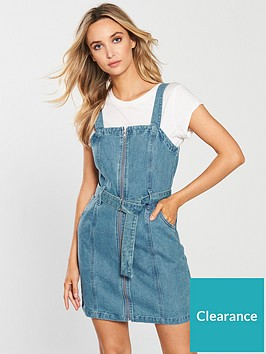 miss-selfridge-zip-through-denim-pinny-dress-blue