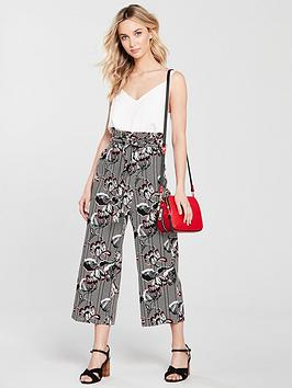 Floral Island Print Black River Trouser Many Kinds Of Online Sale Low Shipping Fee Sale Brand New Unisex xuo9w4XQ