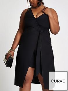 ri-plus-asymmetricnbspdress-black