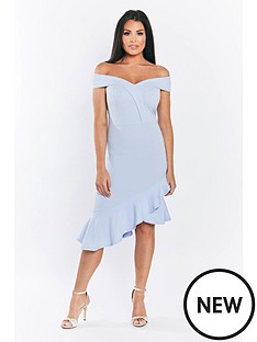 jessica-wright-rona-bardot-dress-with-asymmetricalnbsphem-pale-blue