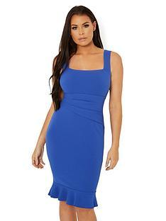 jessica-wright-sunday-midi-dress-with-fluted-hem-cobalt