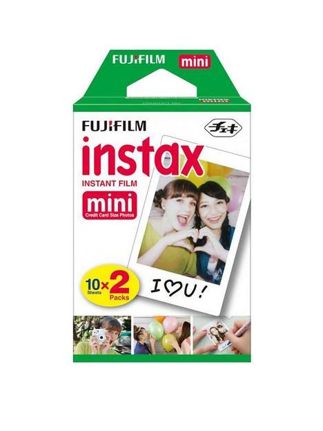 fujifilm-instax-instax-mini-credit-card-size-glossy-photo-film-10-pack-x-2