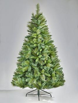 8ft-majestic-pine-christmas-tree-with-metal-stand