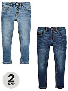 mini-v-by-very-boys-2-pack-skinny-jean-mid-wash-and-light-wash