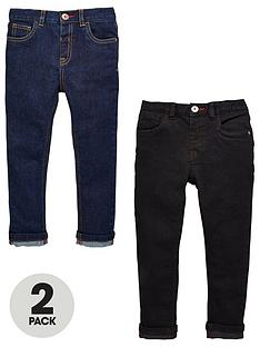 mini-v-by-very-boys-2-pack-slim-fit-jean-rinse-wash-and-black
