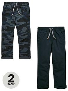 mini-v-by-very-2-pack-pull-on-rip-stop-trouser