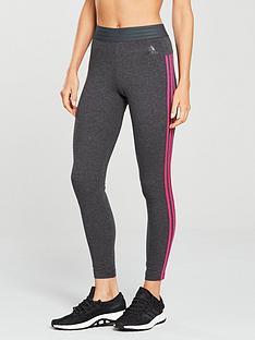 adidas-essentials-3-stripe-tight-dark-greynbsp