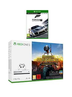 xbox-one-s-1tb-console-plus-playerunknowns-battlegrounds-and-forza-motorsports-7-plus-optional-extra-controller-andor-12-months-live-gold