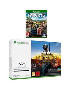 xbox-one-s-1tb-console-with-playerunknowns-battlegrounds-and-far-cry-5-plus-optional-extra-controller-andor-12-months-live-gold