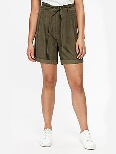wallis-petite-paperbag-shorts