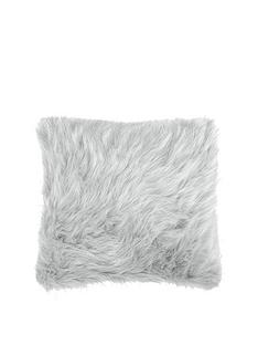 catherine-lansfield-metallic-faux-fur-cushion