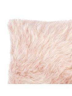 catherine-lansfield-metallic-faux-fur-cushion