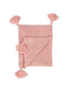 catherine-lansfield-bianca-tasseled-knit-throw